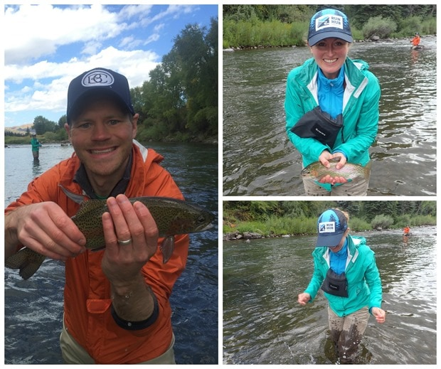 fly fishing rainbow trout colorado