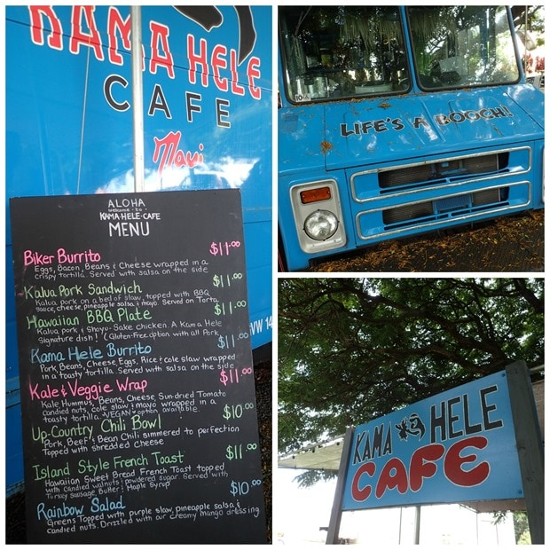 kama hele cafe food truck maui