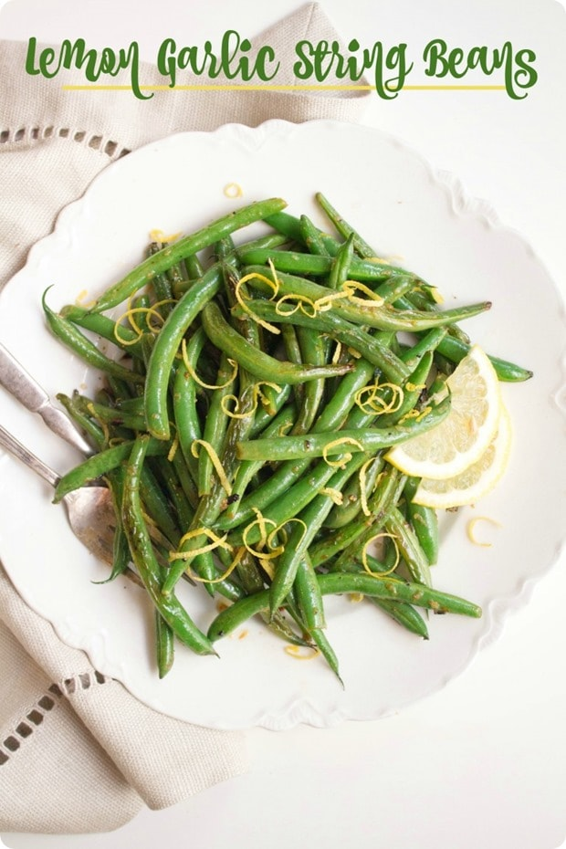 lemon-garlic-string-beans-