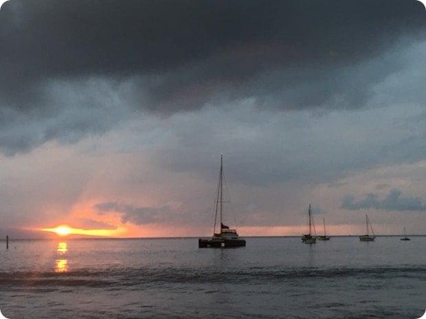 mala ocean tavern sunset view