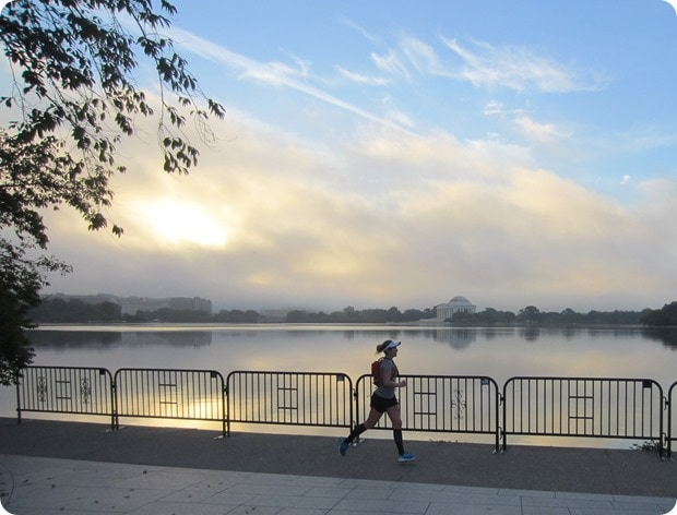 dc tidal basin sunrise run