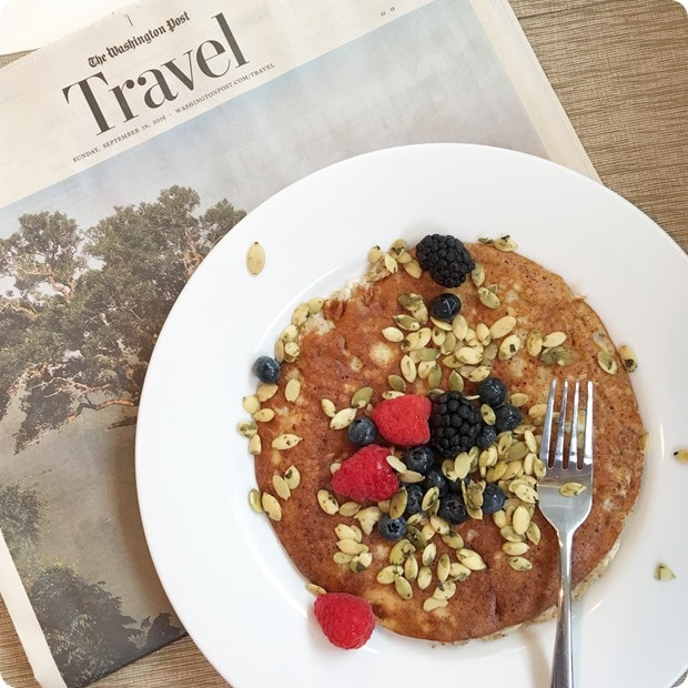 breakfast with washington post travel section
