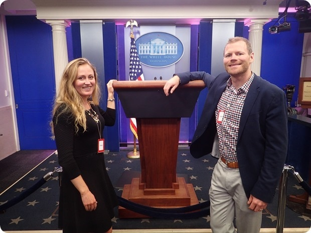 white house press briefing room tour