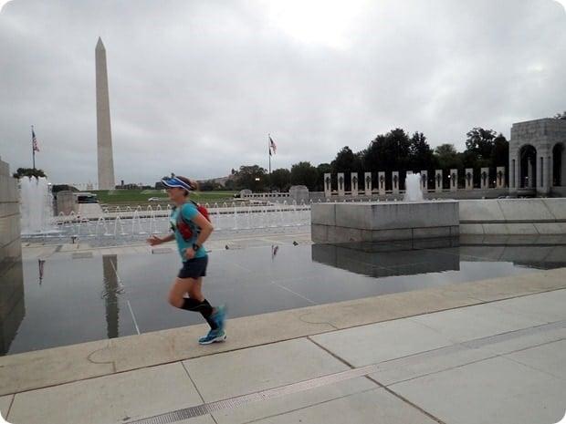 22 mile training run