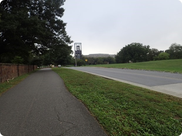 marine corps marathon finish hill