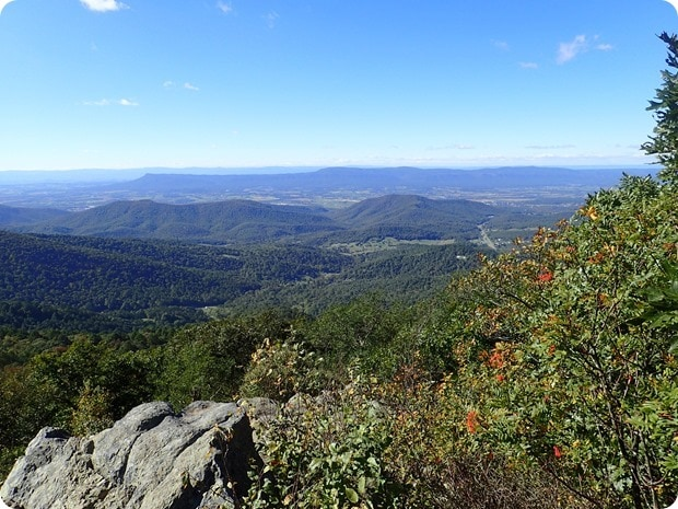 hightop mountain summit shenandoah