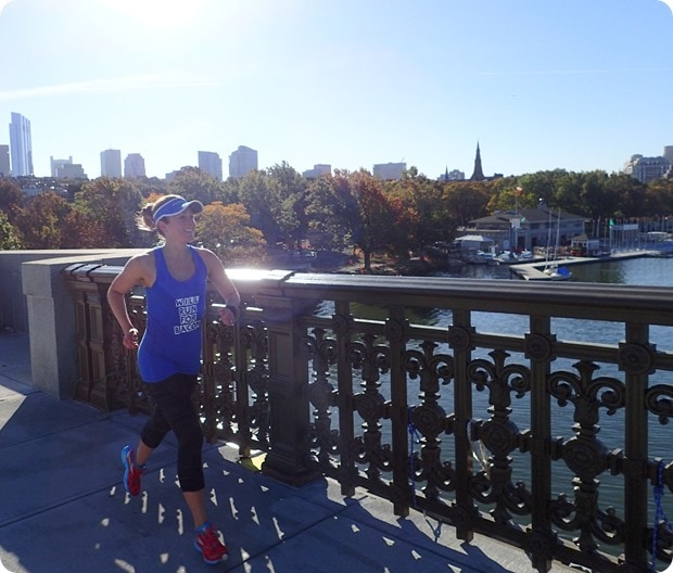 fall running in boston
