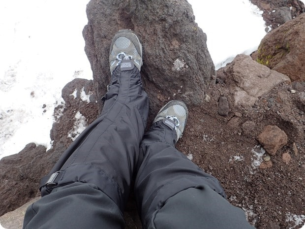 gaiters for snow hiking