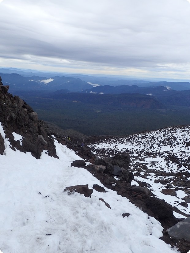 mount st helens winter hike