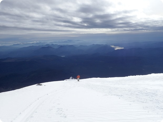 mount st helens snow climb summit