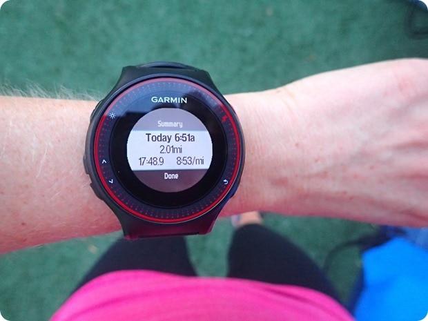 run a few days before the marathon