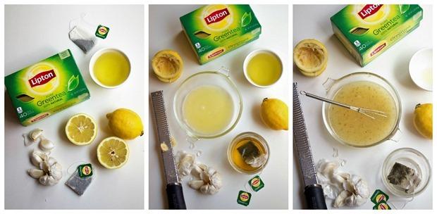 green tea vinaigrette