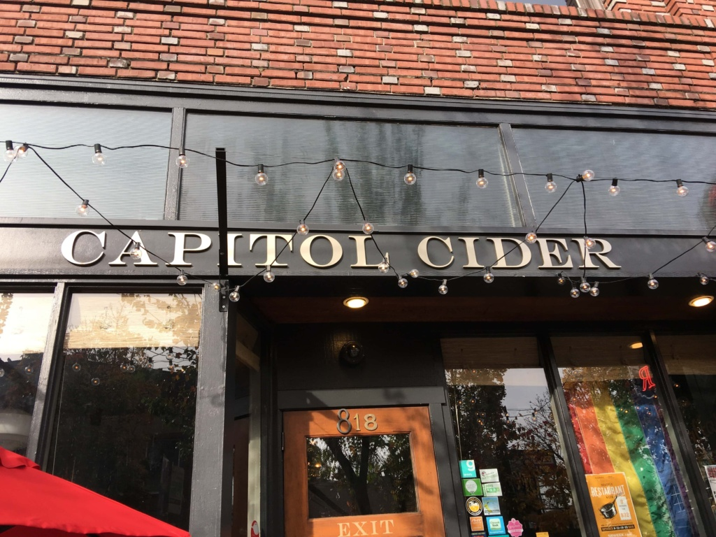 Capitol cider Seattle review