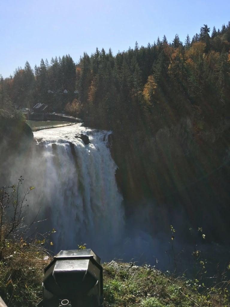 Snoqualmie falls October