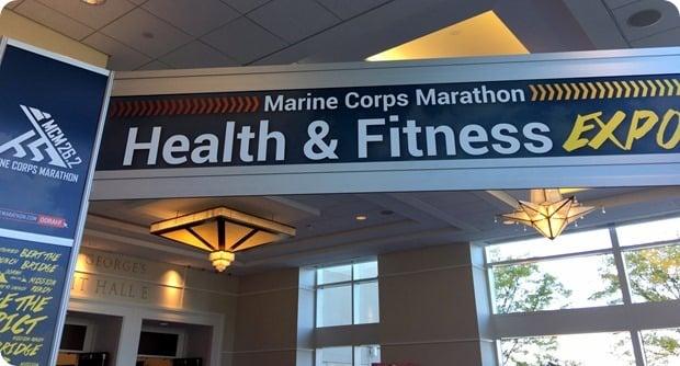 marine corps marathon health fitness expo 2016