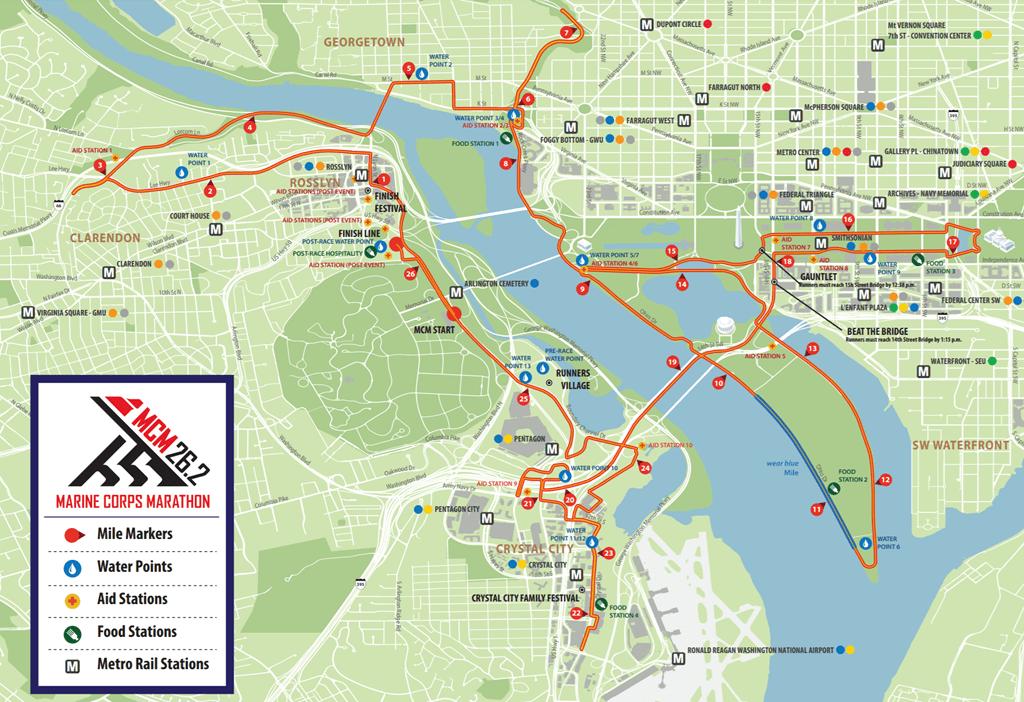 Marine Corps Marathon - National Mall, DC - 10/28/2018 ...