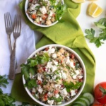 Mediterranean Green Tea Quinoa Salad Recipe