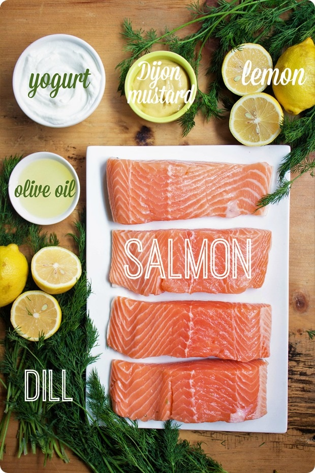 salmon with mustard dill sauce ingredients