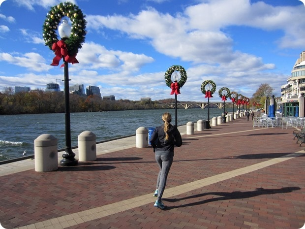 georgetown waterfront christmas decorations