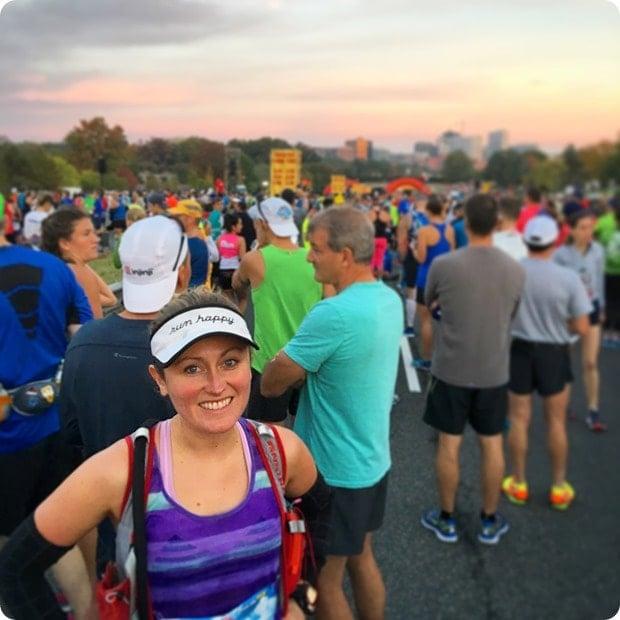 marine corps marathon starting line