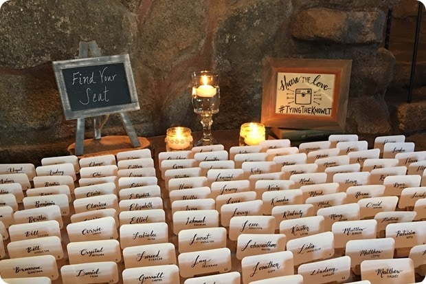 seat arrangements wedding wine cork