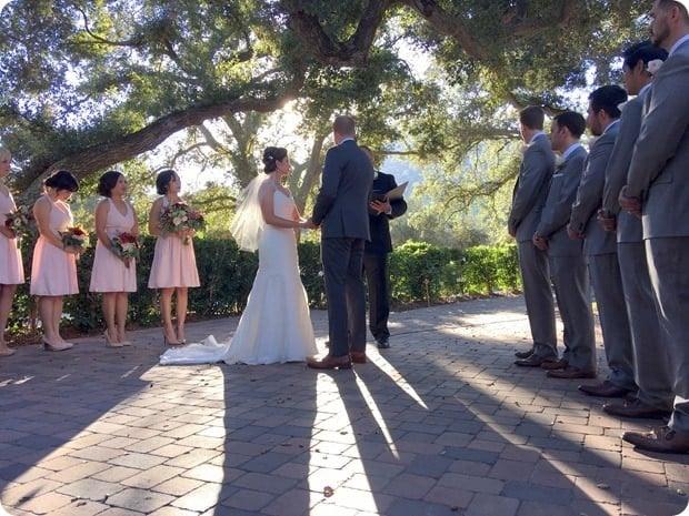mount woodson castle wedding