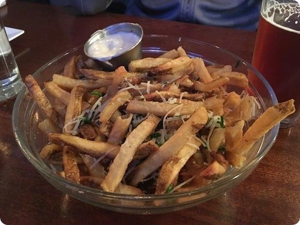 citizen burger bar truffle fries