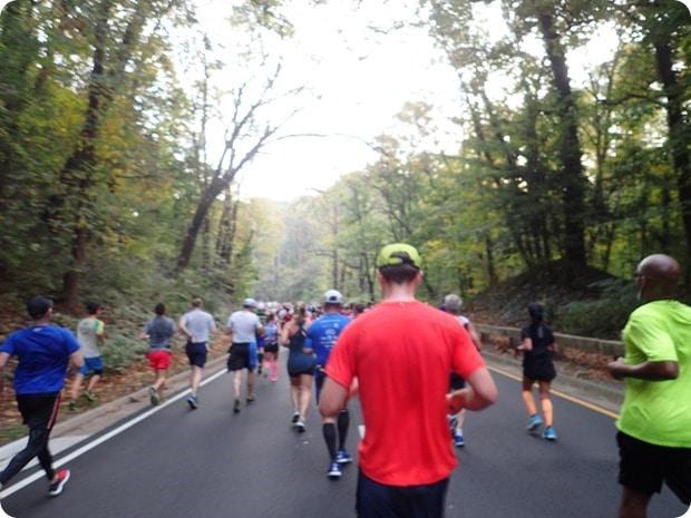 marine corps marathon spout run