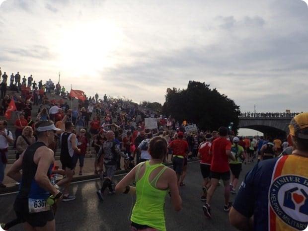 marine corps marathon course