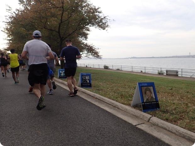 the blue mile marine corps marathon