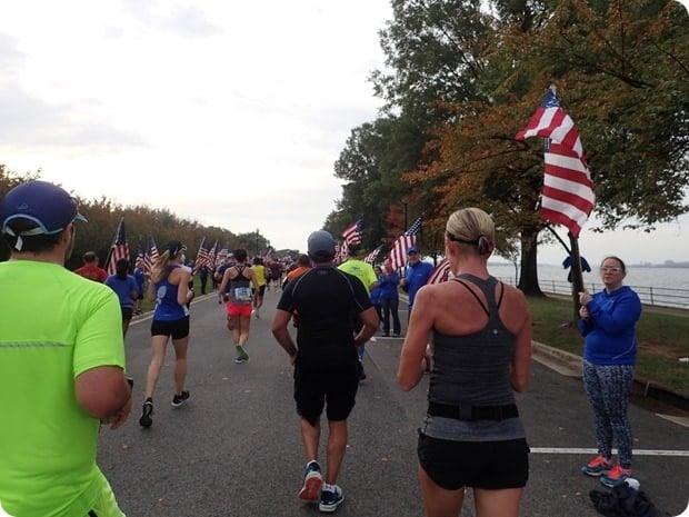 blue mile marine corps marathon