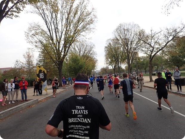 marine corps marathon mile 16