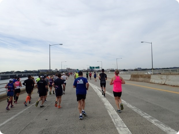 marine corps marathon 14th street bridge