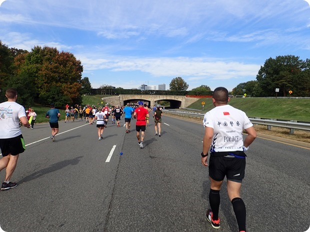 marine corps marathon mile 25