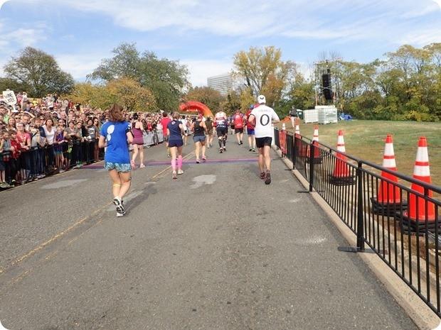 marine corps marathon finish line