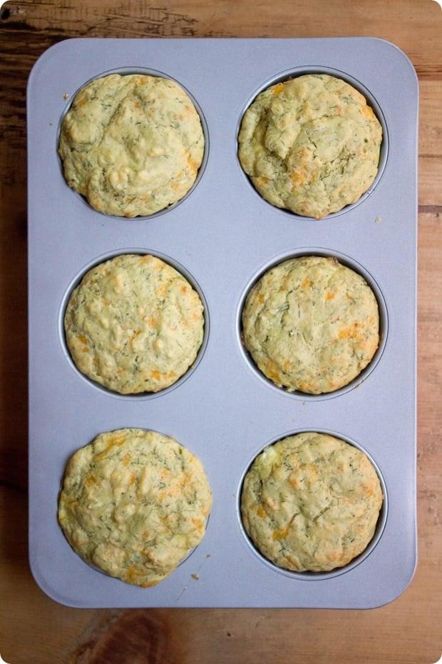 savory gluten free breakfast muffins