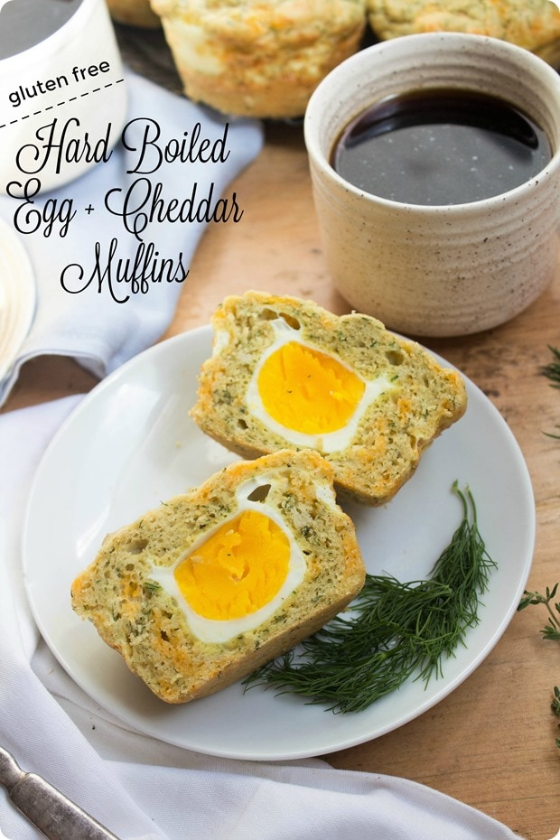 Hard Boiled Egg And Cheddar Muffins Gluten Free Recipe