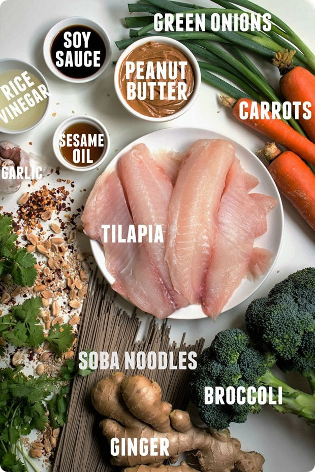 tilapia with peanut sauce ingredients