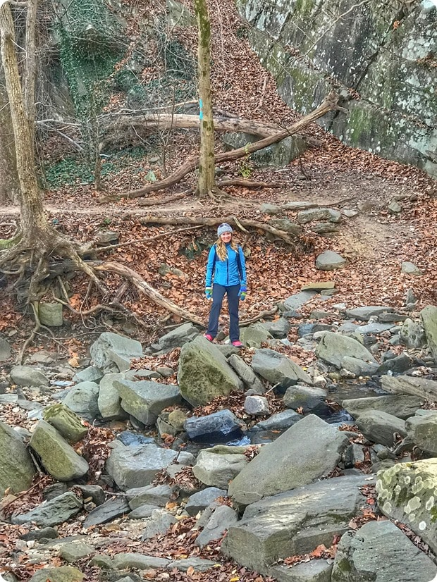 hiking potomac overlook trail