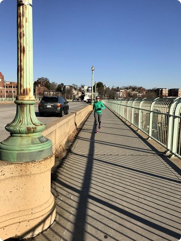running the key bridge