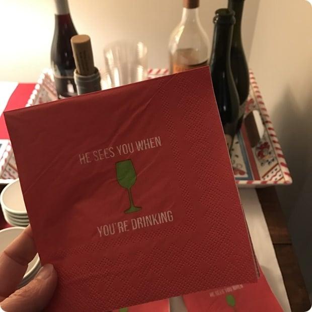 christmas napkins funny