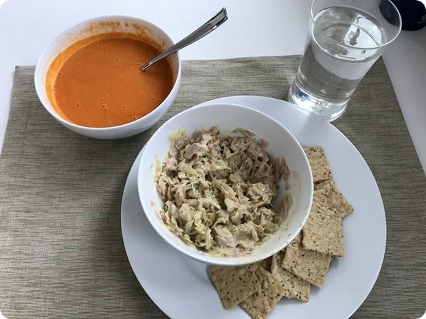 easy tuna salad lunch