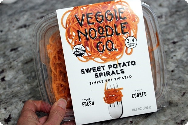 veggie noodle co sweet potato spirals
