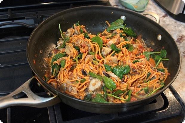sweet potato noodle pasta