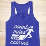 count miles, not calories
