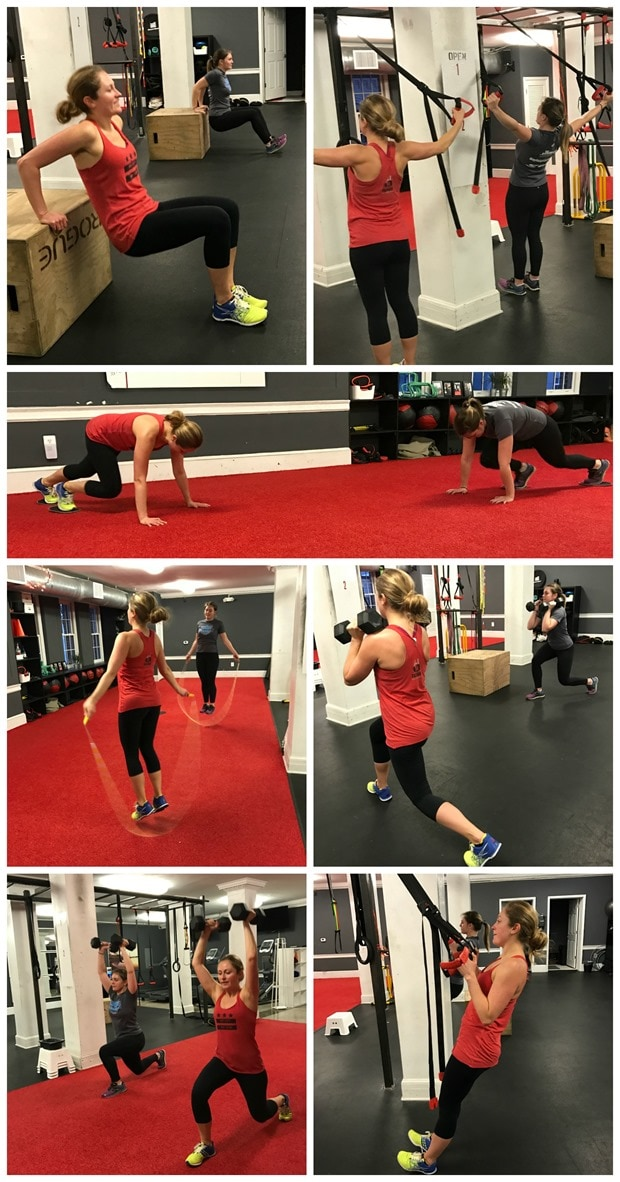 urban athletic club georgetown workout