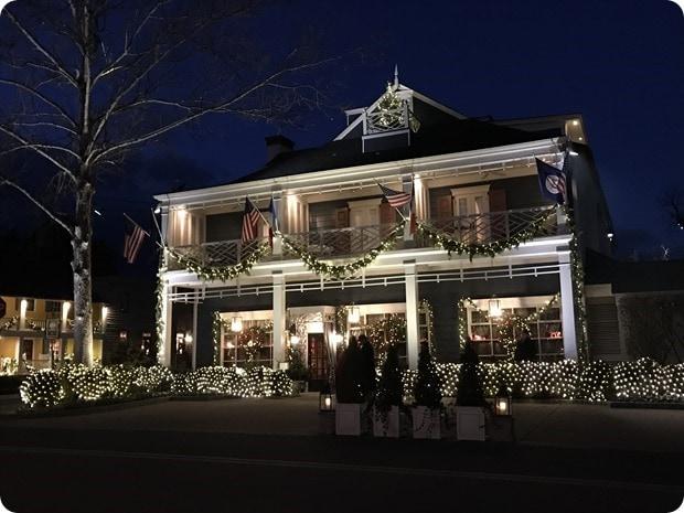 christmas inn at little washington