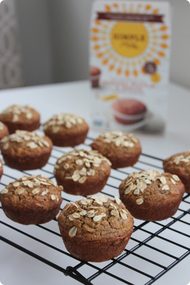simple mills banana muffin mix review