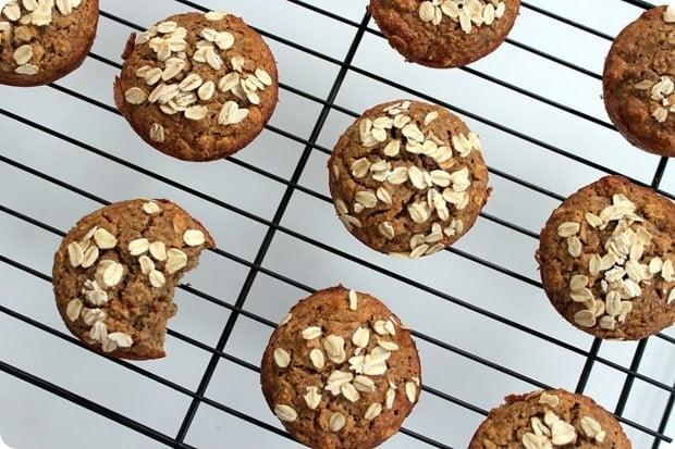 gluten free banana muffins from box mix