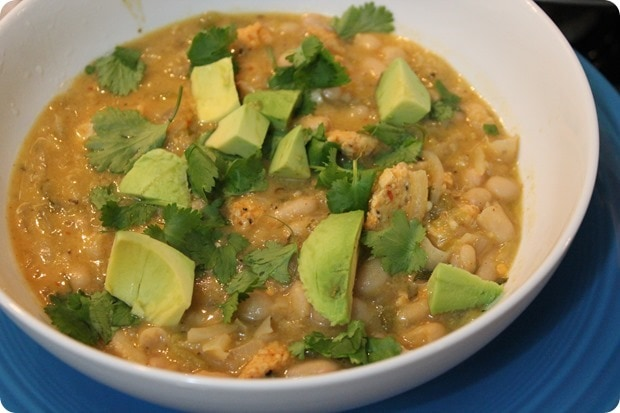 creamy mexican chicken chili soup